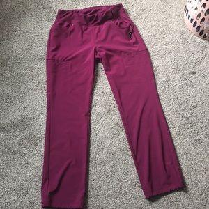Maroon Scrub Pants